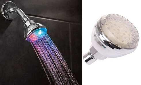 obrázok LED sprchová hlavica