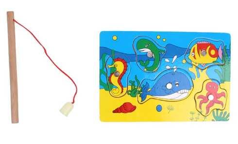 obrázek Mini magnetická hra chytání rybiček