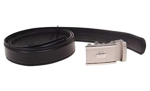 obrázek Kožený pásek černý var.88