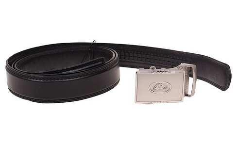 obrázek Kožený pásek černý var.89