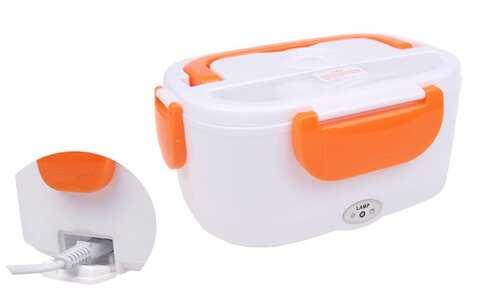 obrázek Elektrická krabička na jídlo oranžová
