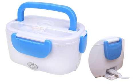 obrázok Elektrická krabička na jedlo modrá