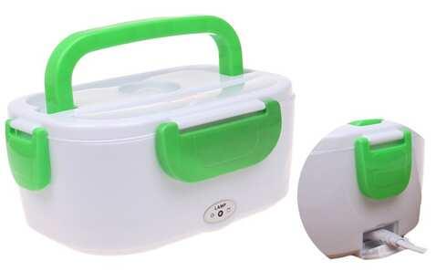 obrázok Elektrická krabička na jedlo zelená