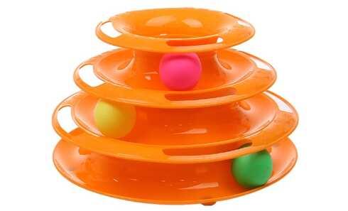 obrázek Hračka pro kočky - věž s míčky