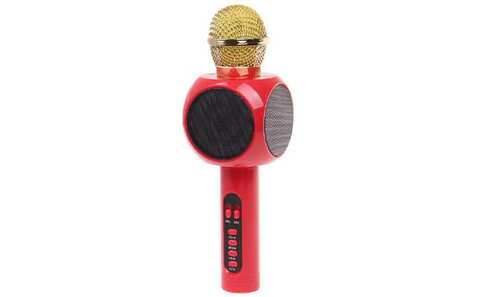 obrázok Karaoke mikrofón WS-1816 červený