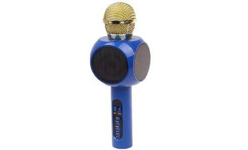 obrázek Karaoke mikrofon WS-1816 modrý