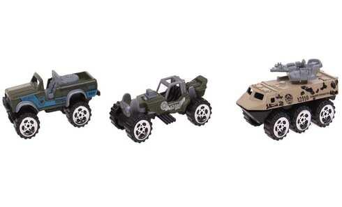 obrázok Sada 3ks vojenských autíčok
