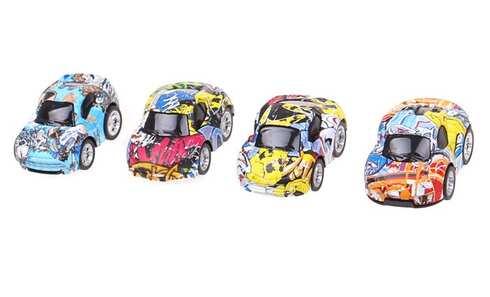 obrázek Sada 4 ks mini autíček