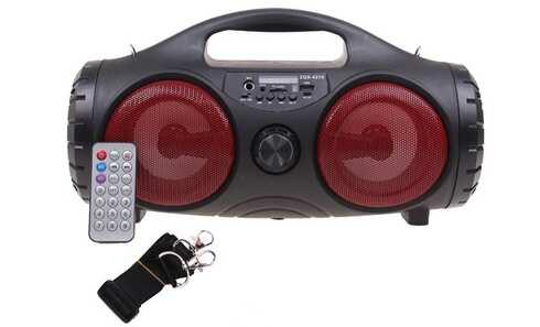 obrázok Prenosné bluetooth rádio ZQS-4215 červené