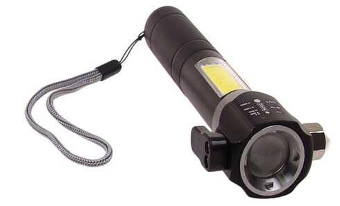 obrázok Multifunkčné svietidlo T6-28 strieborná