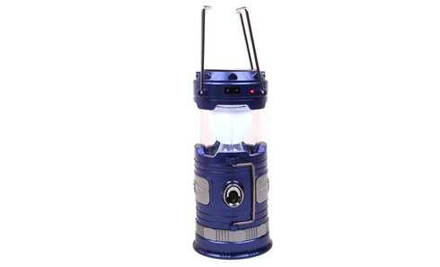 obrázok Solárne kempingový lampáš BF-3586 modrá