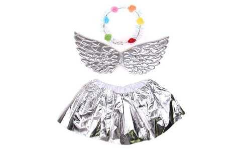 obrázek Kostým anděl stříbrný