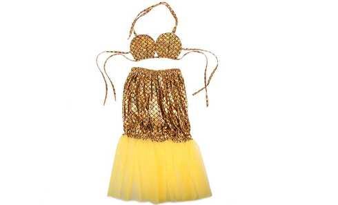 obrázek Kostým mořská panna zlatý