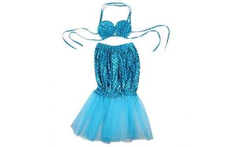 obrázek Kostým mořská panna modrý