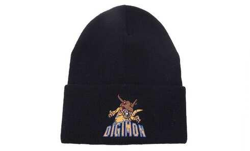 obrázok Čiapka zimná čierna Digimon