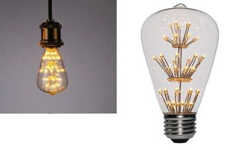 obrázek LED žárovka ST64