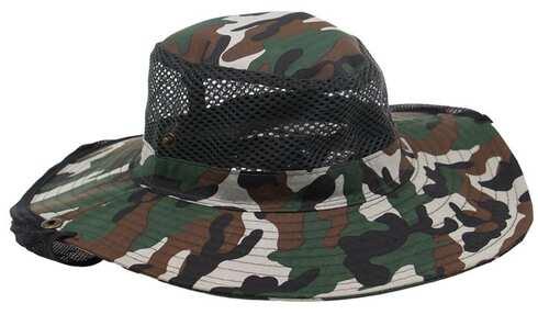 obrázok Rybársky klobúk maskáčový vzor 1