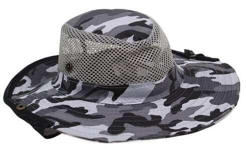 obrázek Rybářský klobouk maskáčový vzor 2