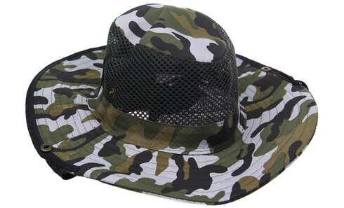 obrázok Rybársky klobúk maskáčový vzor 3