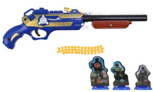obrázek Dětská kuličková pistole modrá
