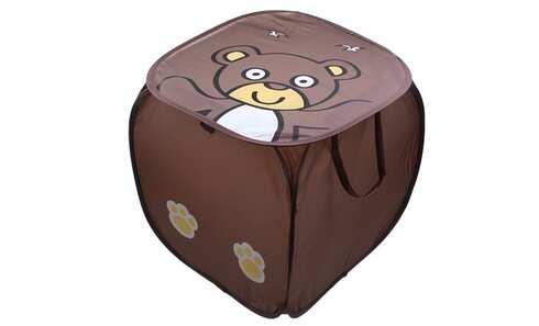 obrázek Úložný box na hračky medvídek hnědý