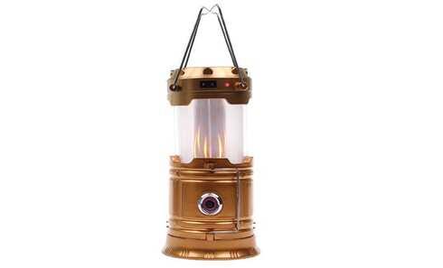 obrázek Solární kempingová lucerna LL-5888 zlatá
