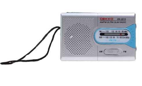 obrázok Prenosné vreckové rádio