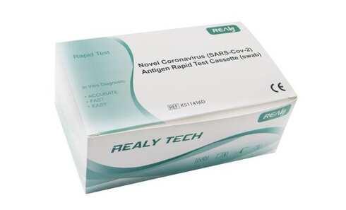obrázek Antigen Rapid Test Novel (výtěrový z kraje nosu)5ks