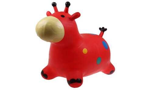 obrázok Hopsadlo pre deti - kravička červená