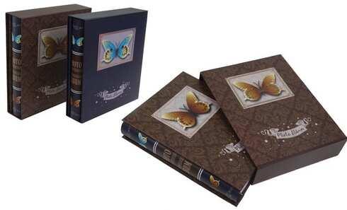 obrázok Fotoalbum motýľ na 200 fotografií