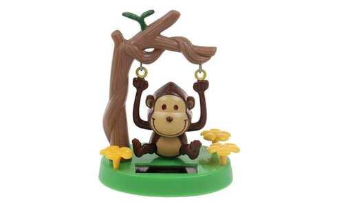 obrázek Solární tančící dekorace opička