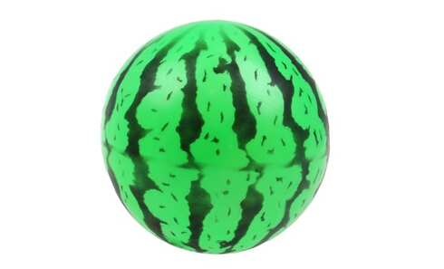 obrázek Gumový míč meloun zelený