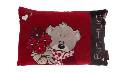 obrázek Červený polštářek Big Hug