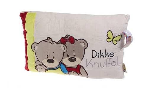 obrázek Krémový polštářek s medvídky