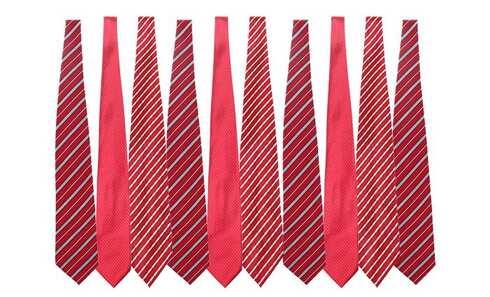 obrázek Dárek - mix kravat 10 kusů