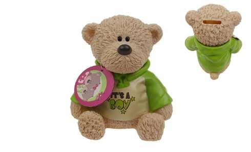 obrázek Pokladnička medvídek