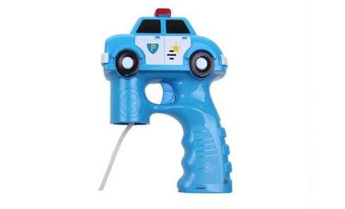 obrázok Bublifuková pištole policajné auto