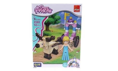 obrázek Dětská stavebnice kočár pro princeznu
