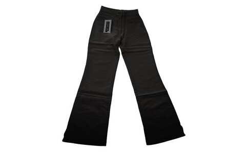 obrázek Dětské zvonové kalhoty černé
