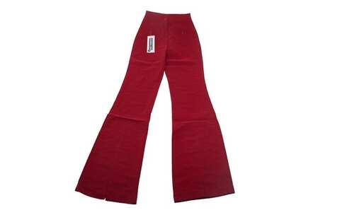 obrázek Dětské zvonové kalhoty červené