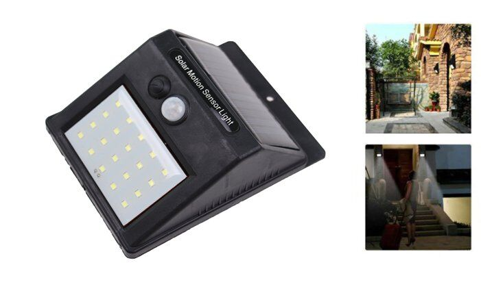 Solární světlo s detektorem pohybu 20 LED