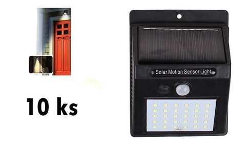 obrázek Solární světlo s detektorem pohybu 25 LED 10 ks