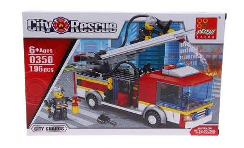 obrázek Dětská stavebnice hasičské auto