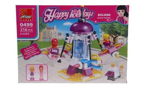 obrázek Dětská stavebnice kolotoč