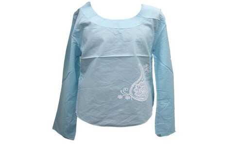 obrázek Dívčí halenka modrá