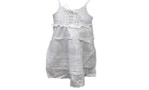obrázek Dívčí šaty bílé